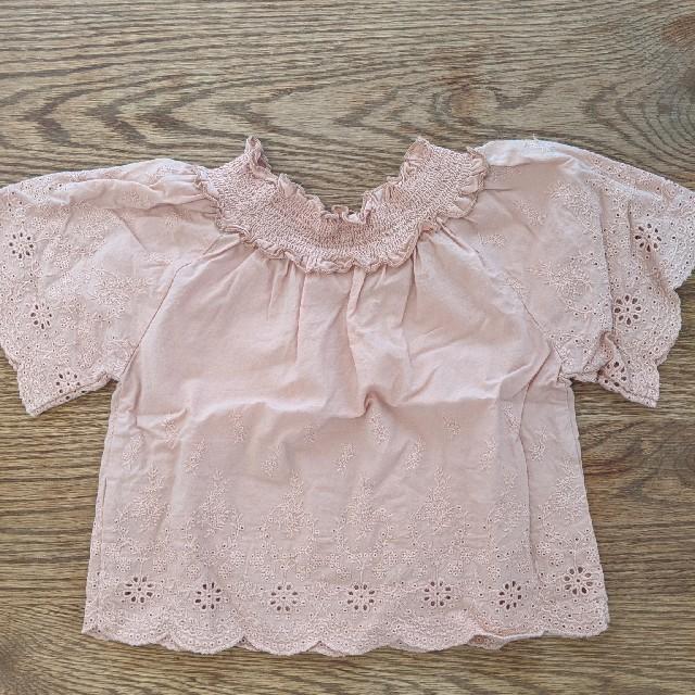 petit main(プティマイン)のpetitmain ブラウス 80cm キッズ/ベビー/マタニティのベビー服(~85cm)(シャツ/カットソー)の商品写真