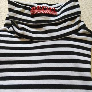 レピピアルマリオ(repipi armario)のレピピアルマリオ ハイネックカットソー XS(Tシャツ/カットソー)