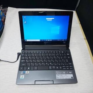 エイサー(Acer)のacer ミニノート ASPIRE ONE 533 ブラック(ノートPC)