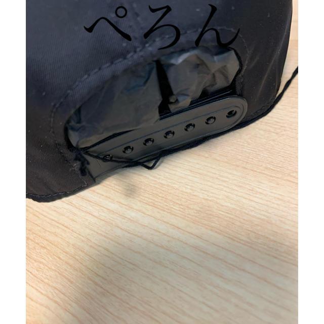 MONCLER(モンクレール)の【正規品】MONCLER + RICK OWENS コラボ ロゴ キャップ メンズの帽子(キャップ)の商品写真