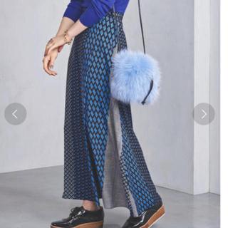 ユナイテッドアローズ(UNITED ARROWS)のUWSC マルチプリントラップスカート(ロングスカート)