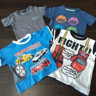 Tシャツ 半袖 4枚セット 95 男の子 ベビー服 子供服 カットソー トミカ(Tシャツ/カットソー)