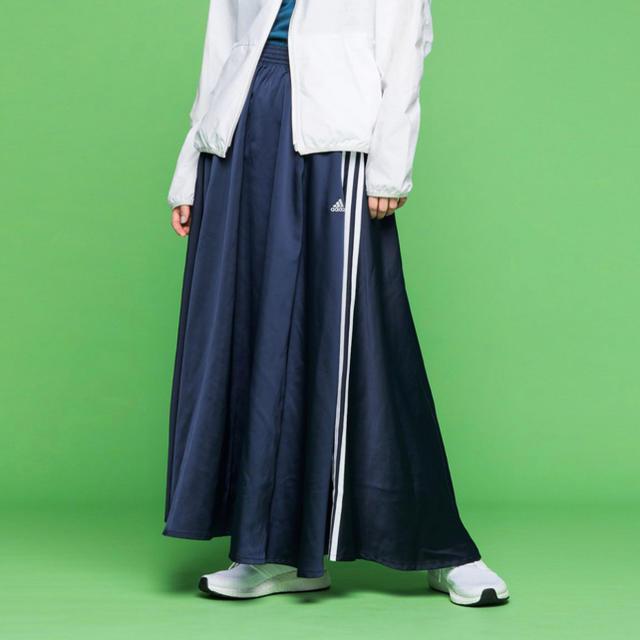 adidas(アディダス)の新品 アディダス adidas マストハブ スカート GL4243 ネイビー S レディースのスカート(ロングスカート)の商品写真