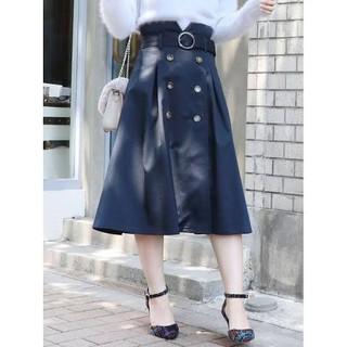 dazzlin - 新品 dazzlin トレンチスカート(Sサイズ/ネイビー)