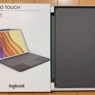 iPad - 【美品】Logicool COMBO TOUCHトラックパッド キーボード