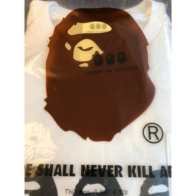 A BATHING APE(アベイシングエイプ)のCDG OSAKA X BAPE POCKET TEE  ape 大阪限定 メンズのトップス(Tシャツ/カットソー(半袖/袖なし))の商品写真