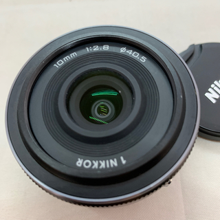 Nikon - Nikon 単焦点レンズ 1 NIKKOR 10mm f/2.8 ブラック ニコ