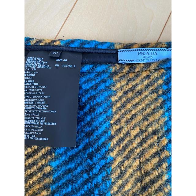 PRADA(プラダ)のPRADA アシンメトリー ウール S-Mサイズ スカート レディースのスカート(ひざ丈スカート)の商品写真