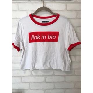 ベルシュカ(Bershka)の【Bershka】Tシャツ ミニTシャツ チビTシャツ(Tシャツ(半袖/袖なし))