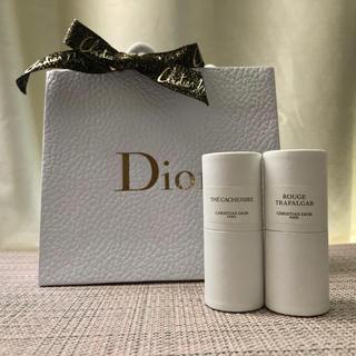 Dior - 【新品】Dior テ カシミア & ルージュ トラファルガー ミニショッパー付