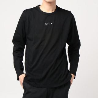 アニエスベー(agnes b.)のagnes b.HOMMEアニエスベーオム新品ちびロゴ長袖Tシャツ☆ブラック☆4(Tシャツ/カットソー(七分/長袖))
