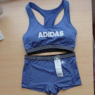 adidas - アディダス スポーツブラ ショーツ セット スポブラ L
