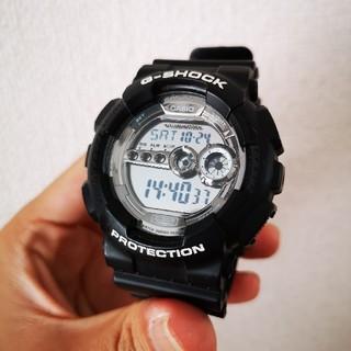 ジーショック(G-SHOCK)のG-SHOCK ブラック(腕時計(デジタル))