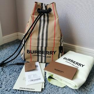 BURBERRY - バーバリー ナイロン巾着バッグ