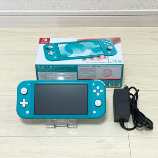 Nintendo Switch - ニンテンドー スイッチ ライト Switch Lite 本体 ターコイズ 保証付