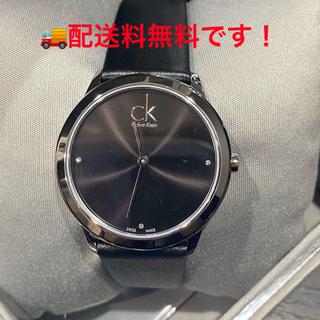 ck Calvin Klein - 新品 カルバンクライン Calvin Klein 腕時計 ミニマル ブラック