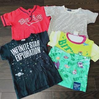 Tシャツ 半袖 4枚セット 95 男の子 ベビー服 子供服 カットソー 夏服(Tシャツ/カットソー)