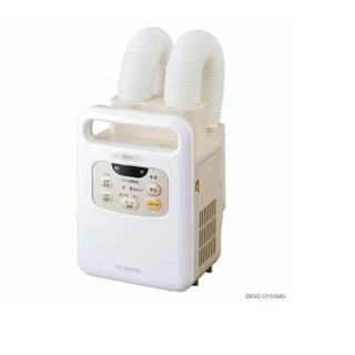 アイリスオーヤマ(アイリスオーヤマ)の布団乾燥機 IRIS ふとん乾燥機 カラリエ ツインノズル KFK-W1-WP(その他)