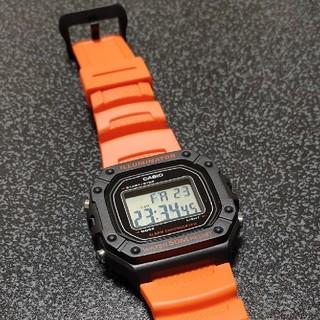 チープカシオ(オレンジ)(腕時計(デジタル))