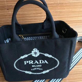PRADA - 美品 PRADA プラダ カナパS トートバッグ