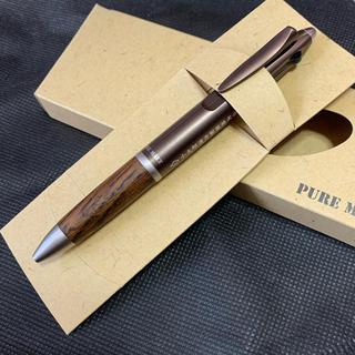 ミツビシエンピツ(三菱鉛筆)のピュアモルト 3機能ペン メタリックブラウン(ペン/マーカー)