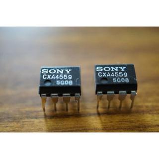ソニー(SONY)のオペアンプ  SONY CXA4559 2個 セット   自作 エフェクター(アンプ)