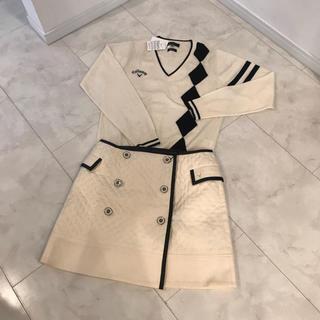 キャロウェイゴルフ(Callaway Golf)のnozue様 専用 セーターandスカート(ニット/セーター)