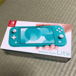 Nintendo Switch - Nintendo Switch lite ターコイズ 新品 未開封