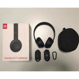 ビーツバイドクタードレ(Beats by Dr Dre)のbeatssolo3 wireless マットブラック(ヘッドフォン/イヤフォン)