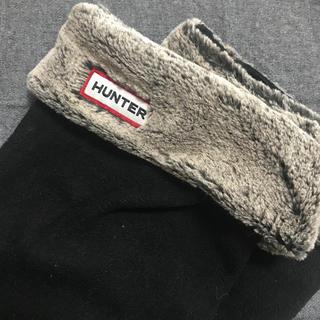 ハンター(HUNTER)のHUNTER レインブーツインナー ブラック(レインブーツ/長靴)