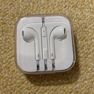 アップル(Apple)のイヤフォン iPhone 付属品(ヘッドフォン/イヤフォン)
