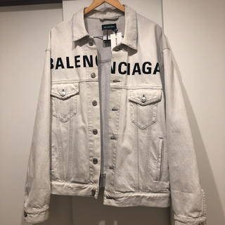 Balenciaga - balenciaga 20ss front logo denim jacket