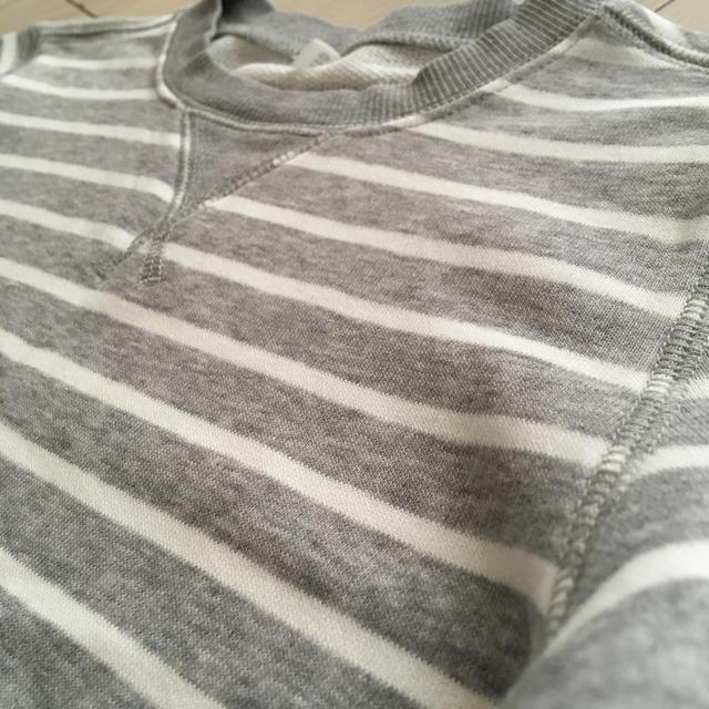 MUJI (無印良品)(ムジルシリョウヒン)の無印良品 トレーナー 110cm キッズ/ベビー/マタニティのキッズ服男の子用(90cm~)(Tシャツ/カットソー)の商品写真