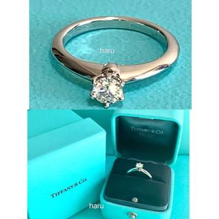 ティファニー(Tiffany & Co.)のTIFFANY&Co. ティファニー ソリティア リング 0.25ct(リング(指輪))