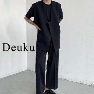 ハレ(HARE)の韓国Deuku Vest 上下セット DES340(セットアップ)