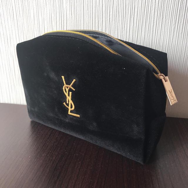Saint Laurent(サンローラン)の化粧ポーチYSL レディースのファッション小物(ポーチ)の商品写真