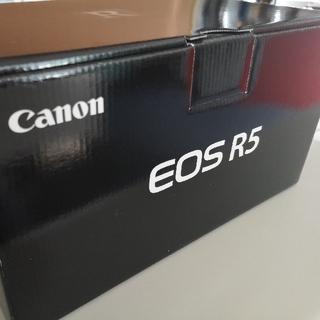 Canon - 新品未使用 Canon キヤノン EOS R5 ボディ+コントロールリング