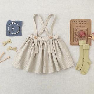 soor ploom  Mavis Skirt / Feedsack 8y