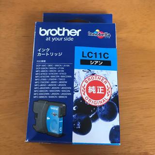 ブラザー(brother)のbrother LC11C ブラザー インク 青(PC周辺機器)