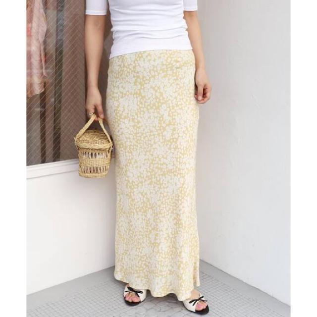 EDIT.FOR LULU(エディットフォールル)のEDIT.FOR LULU/フラワーバイアスマキシスカート  レディースのスカート(ロングスカート)の商品写真