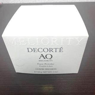 コスメデコルテ(COSME DECORTE)のコスメデコルテ AQミリオリティ フェイスパウダー(フェイスパウダー)