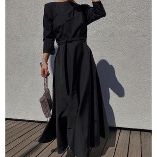 Ameri VINTAGE - 【新品未使用】DEFORMATION LADY DRESS ブラック