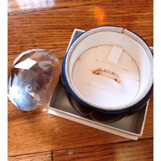 ヨンドシー(4℃)の4°C リング ピンクゴールド 6号(リング(指輪))