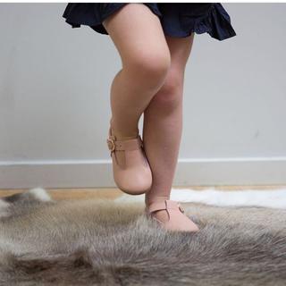 キャラメルベビー&チャイルド(Caramel baby&child )のpamie  leathershoes  14cm(フラットシューズ)