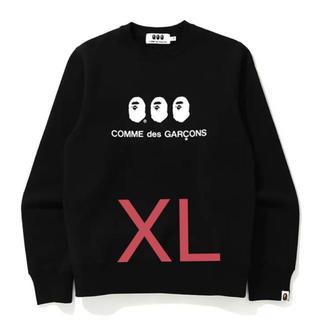 COMME des GARCONS - CDG OSAKA X BAPE CREWNECK XL black