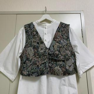 RETRO GIRL - kutir 刺繍ベスト セット
