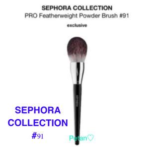 セフォラ(Sephora)のSEPHORA ブラシ 91♦メイクブラシ♦パウダー ブラシ♦チークブラシ(ブラシ・チップ)