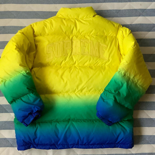 Supreme -  SUPREME 18ss GRADIENT PUFFY JACKET ダウン
