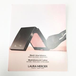 laura mercier - 新品未使用 ローラメルシエ ブラッシュカラー インフュージョン ピーチ ローズ