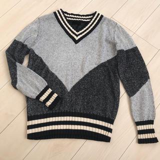 ジーヴィジーヴィ(G.V.G.V.)のg.v.g.v 切り替えニット セーター(ニット/セーター)